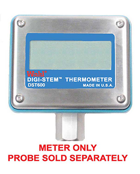 Digi-Stem� Digital RTD Thermometer - Meter Only - Probe Sold Separately