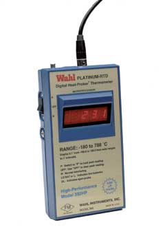 High Performance Platinum RTD Meter, Dual Scale