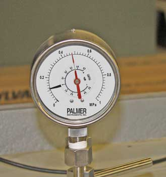 Differential Pressure Gauge with Double Bourdon Tube