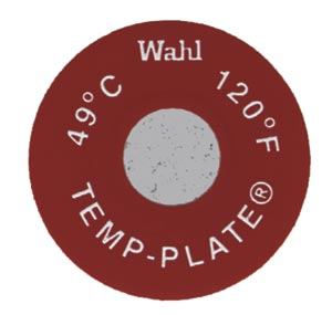 Round Single Position Temp-Plate  330�F & 166�C