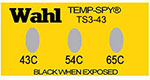 Temp-Spy Low Cost Temperature Labels, 43-54-65°C