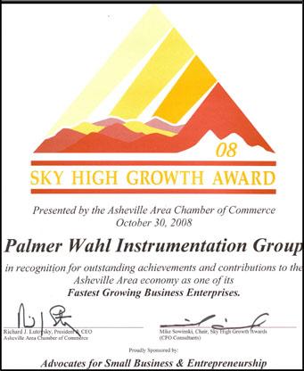 Sky High Award